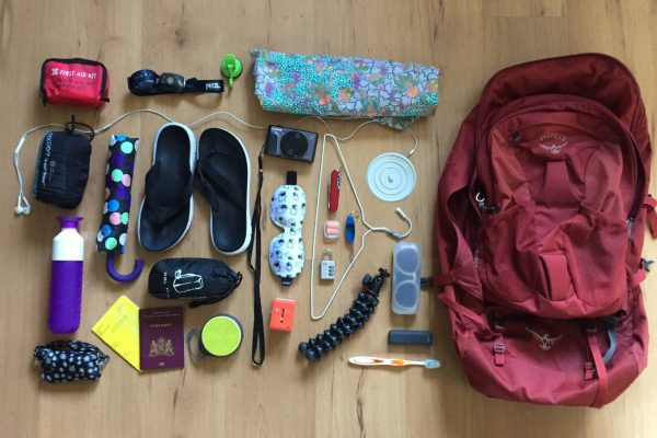 Backpack Checklist; Travel stuff