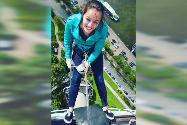Abseiling Euromast Rotterdam