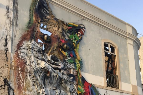 FOX - Bordalo II - Art Lisbon