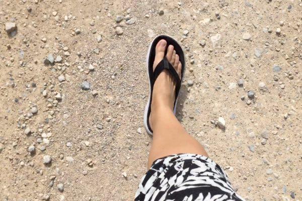 Flip-flop hike