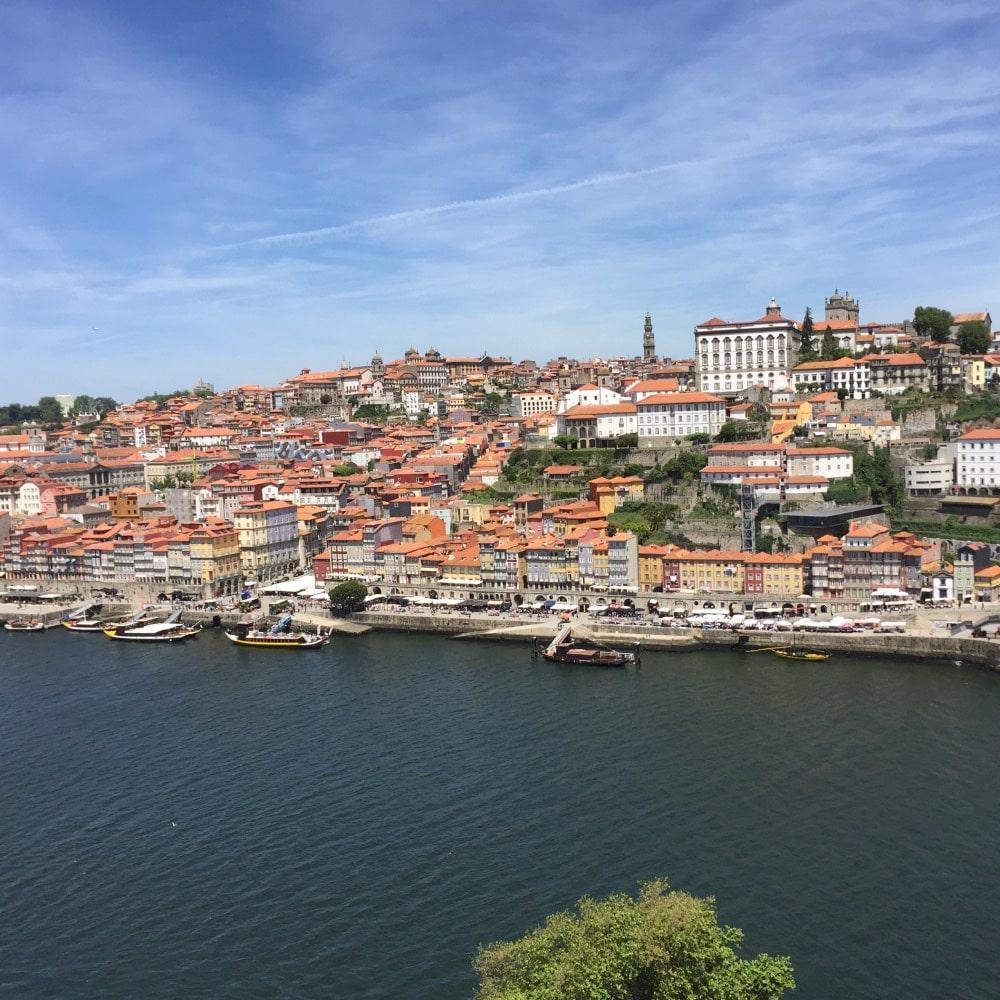 Portugal; view over Porto