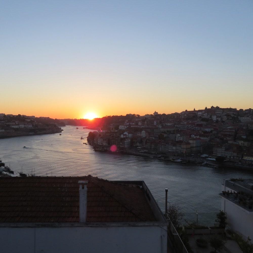 Portugal; Sunset Porto