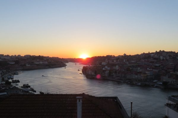 Portugal; Sunset Porto