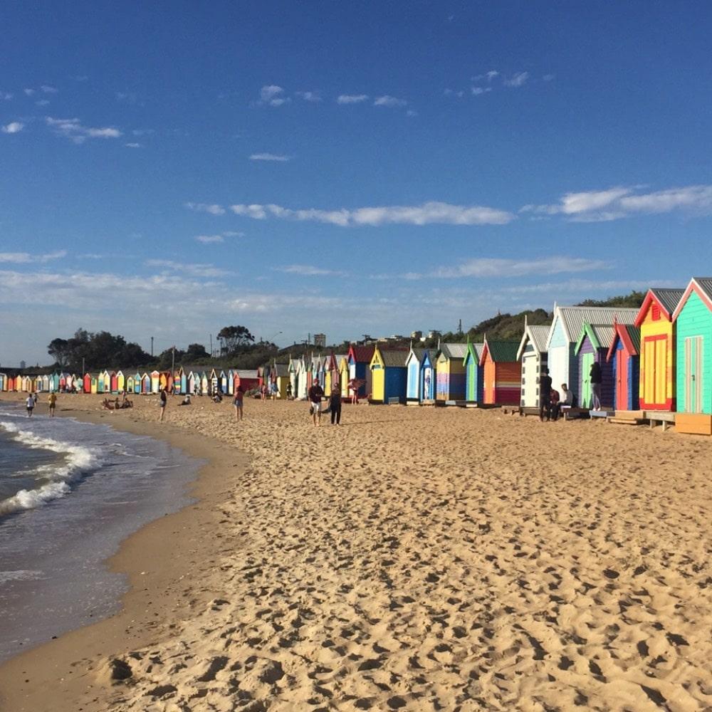 Australia; Brighton beach
