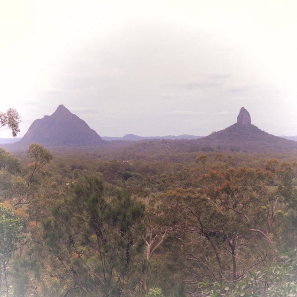 Australia: Glass House Mountains