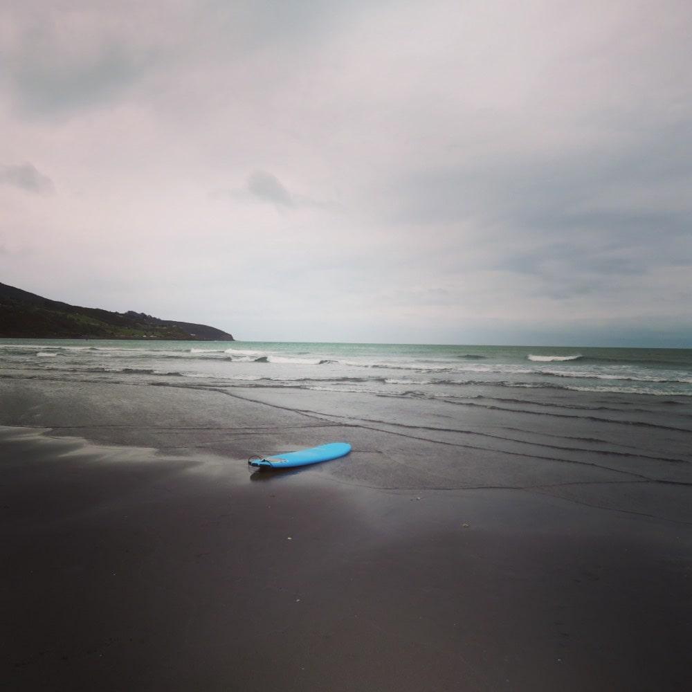 Ngarunui Beach – black sand beach New Zealand