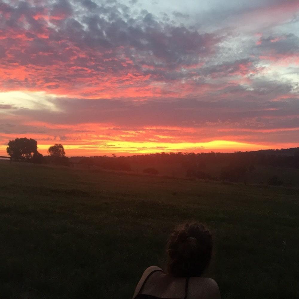 Australia; Sunset
