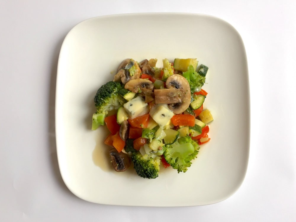 Stir-fry vegetables