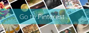 Go to Pinterest button Brightful World footer
