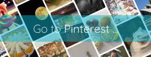 Go to Pinterest button Brightful World footer