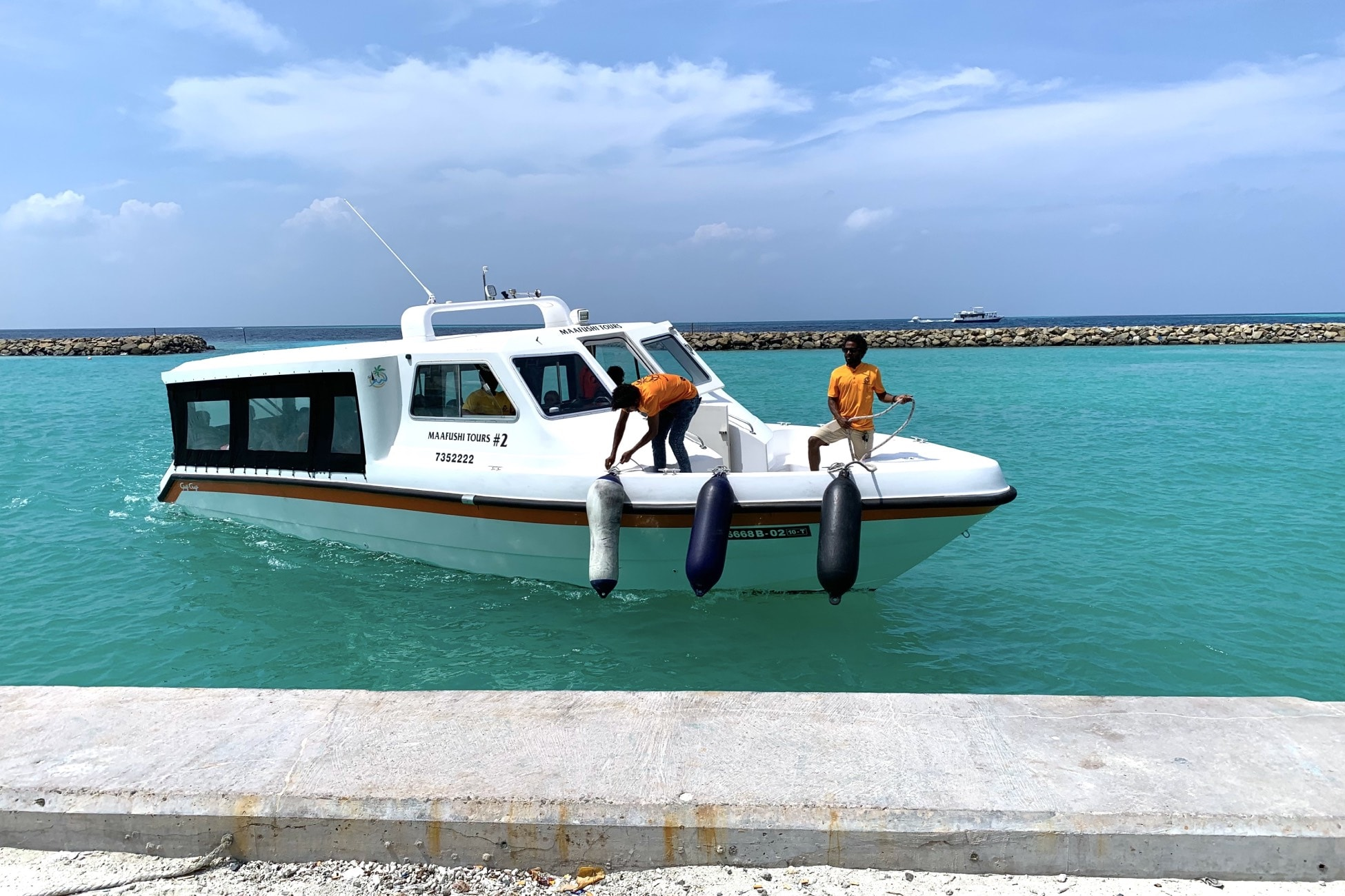 maldives local transport ferry speedboat