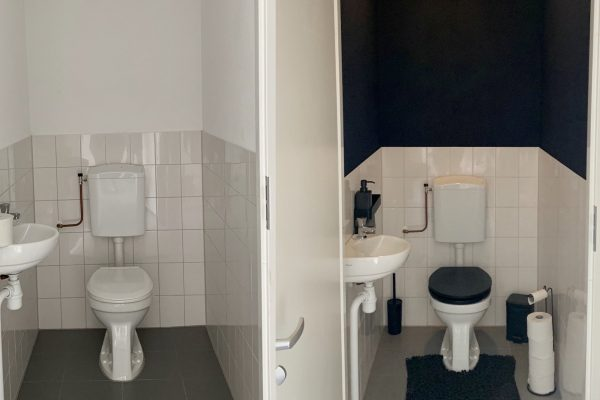 Toilet makeover